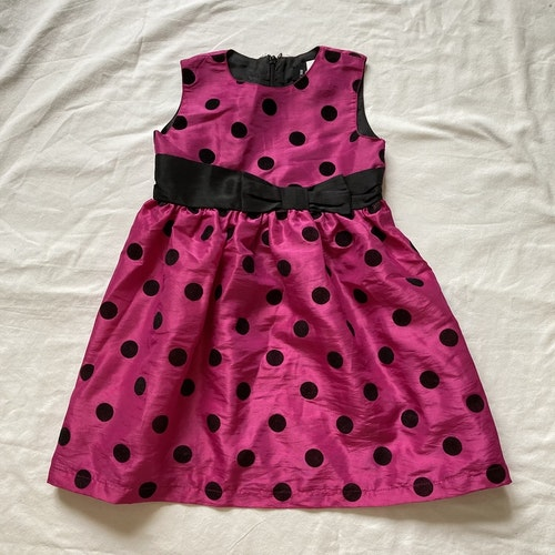 Rosa klänning stl 92