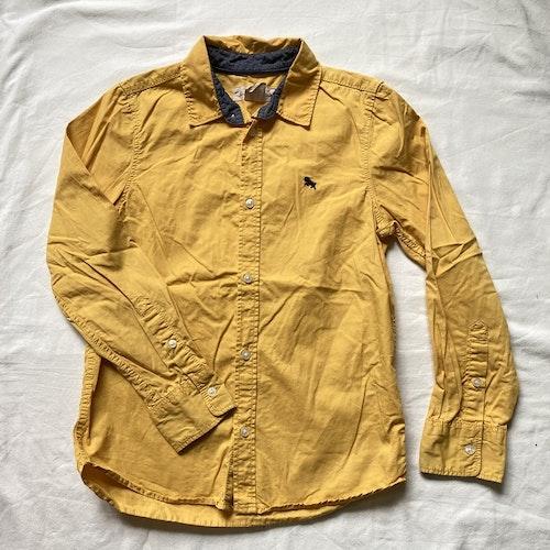 Gul skjorta stl 134
