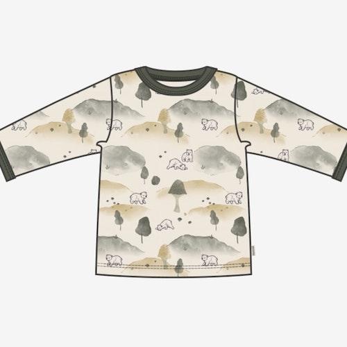 Beige mönstrad tröja stl 68-92