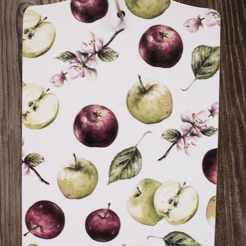 Skärbräda äpplen