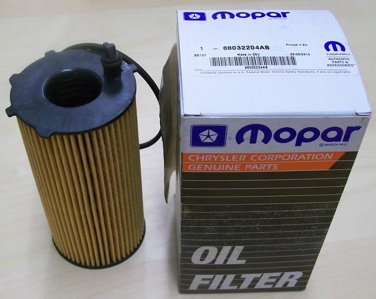 Oljefilter Mopar 68032204AB