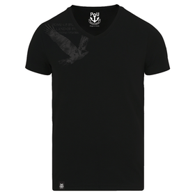 Rivers v-ringad t-shirt svart