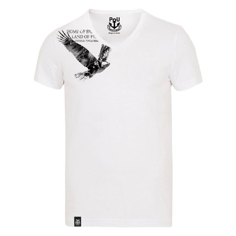Rivers v-ringad t-shirt vit