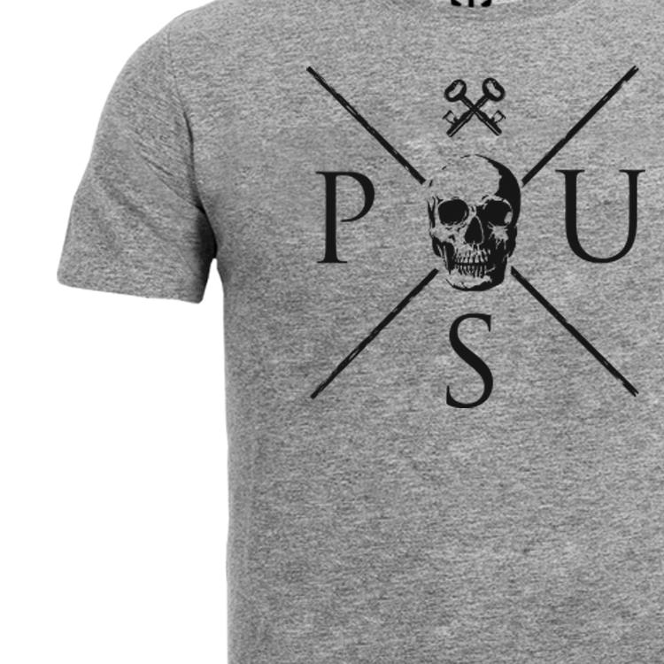 Jason t-shirt, grå