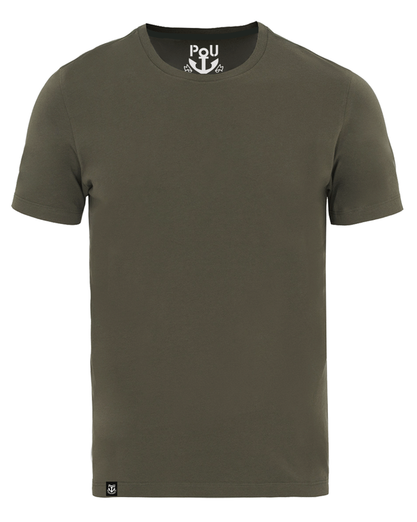 Cliff t-shirt army grön