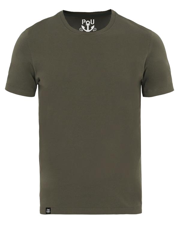 Cliff t-shirt army grön