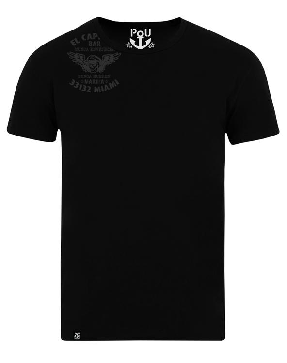 El capitan t-shirt svart