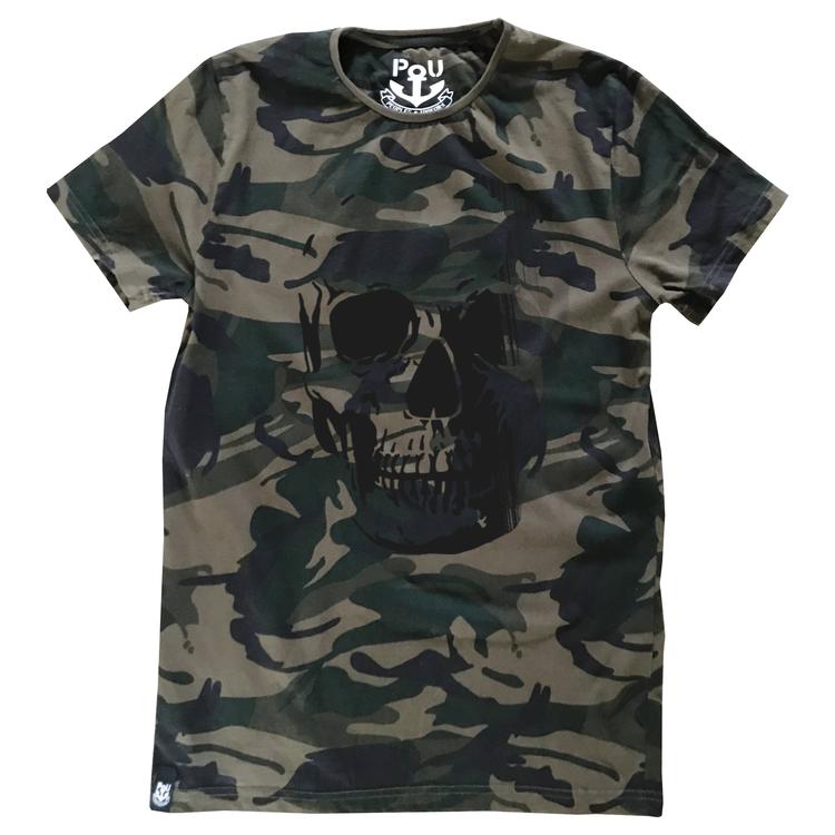 Dolly t-shirt, dark camo