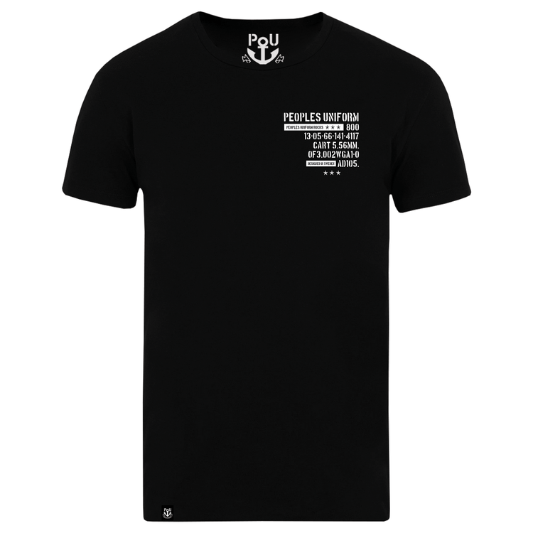 Jagger t-shirt, black