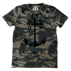 Axl t-shirt, dark camo
