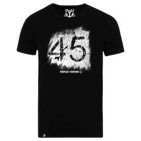 45 Warehouse t-shirt, black