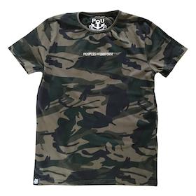 Uniform t-shirt, dark camo
