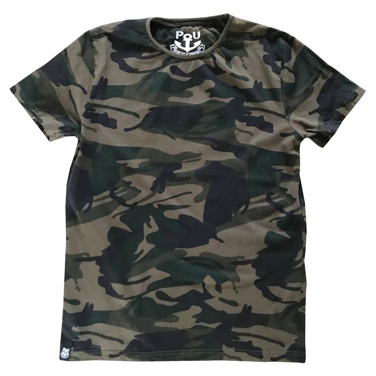 Cliff t-shirt, dark camo