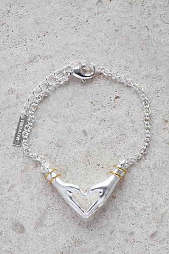 My Heart armband silver