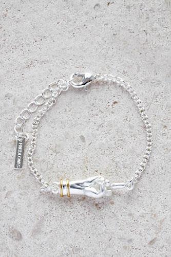 Servant armband silver