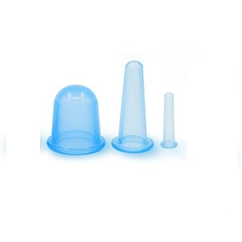Koppning - vakuumkoppar för massage / cellulitbehandling 3-pack