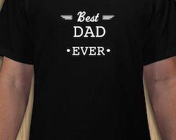 Best Dad Ever T-Shirt Herr