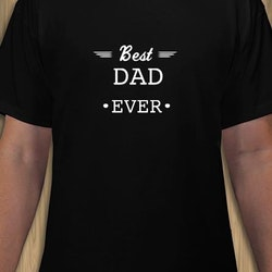 Best Dad Ever T-Shirt Herr