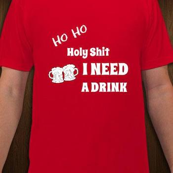 Ho Ho T-Shirt Herr