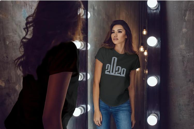 Fuck 2020 Tshirt Women, Tshirt med tryck Fuck 2020