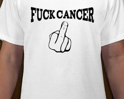 Fuck Cancer T-Shirt Herr