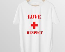 Love & Respect T-Shirt Herr
