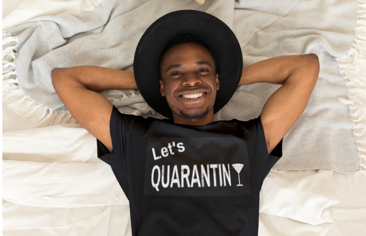 Let's Quarantini T-Shirt Herr