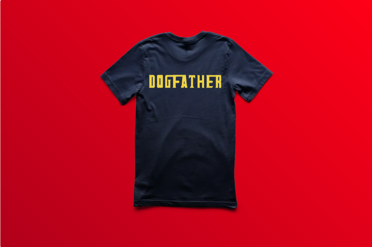 Dogfather T-Shirt Barn
