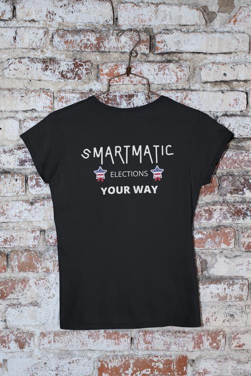 Smartmatic Tshirt, T-Shirt med tryck