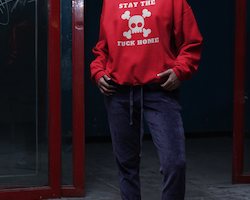 Stay The Fuck Home Sweatshirt Unisex