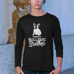 French Bulldog Brother Long Sleeve T-Shirt Herr