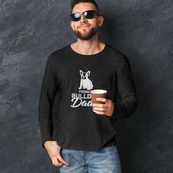 French Bulldog Dad Long Sleeve T-Shirt Herr