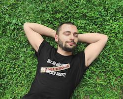 Toblerone Skatt  T-Shirt Herr