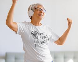 Old Lives Matter-Covid-19 T-Shirt Dam