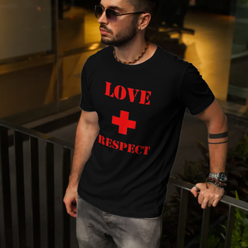 Love & Respect T-Shirt Herr