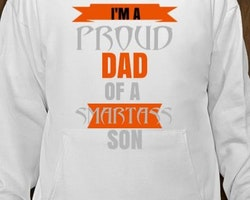 Proud Dad Of a Smart Ass Son Hoodie