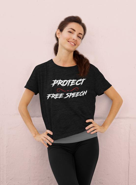 Protect Free Speech T-Shirt  Dam