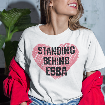 Stand Behind Ebba T-Shirt Dam