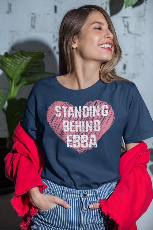 Ebba Busch Tshirt , Vi står bakom Ebba Busch