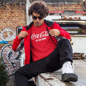 Coke T-Shirt Herr