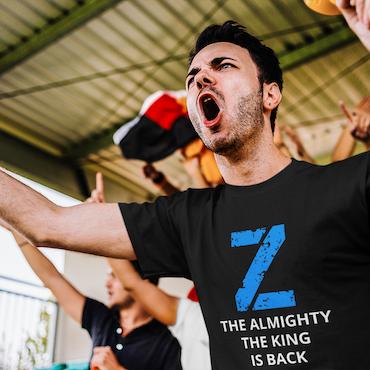 Zlatan The Almighty T-Shirt Herr