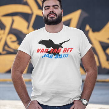 Vad Var Det Jag Sa! (Eagle) T-Shirt Herr