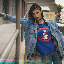 Kneel For No One  T-Shirt Dam