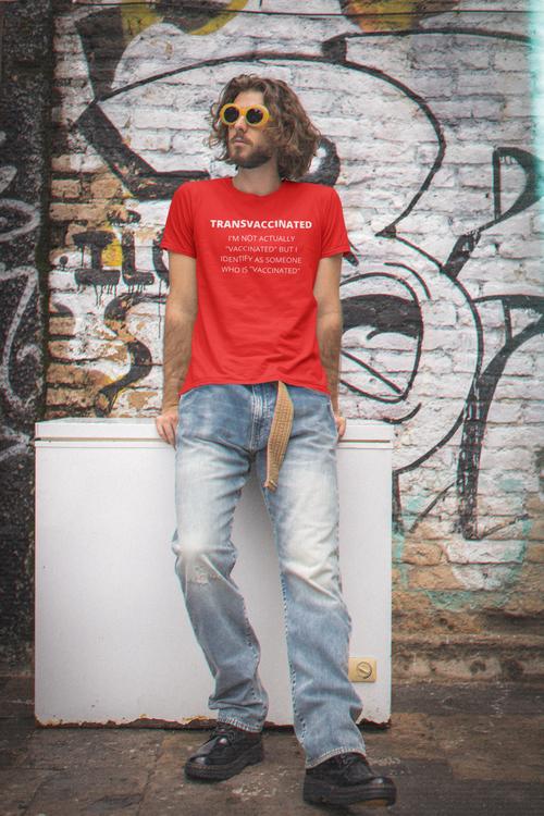 TransVaccinated T-Shirt Herr