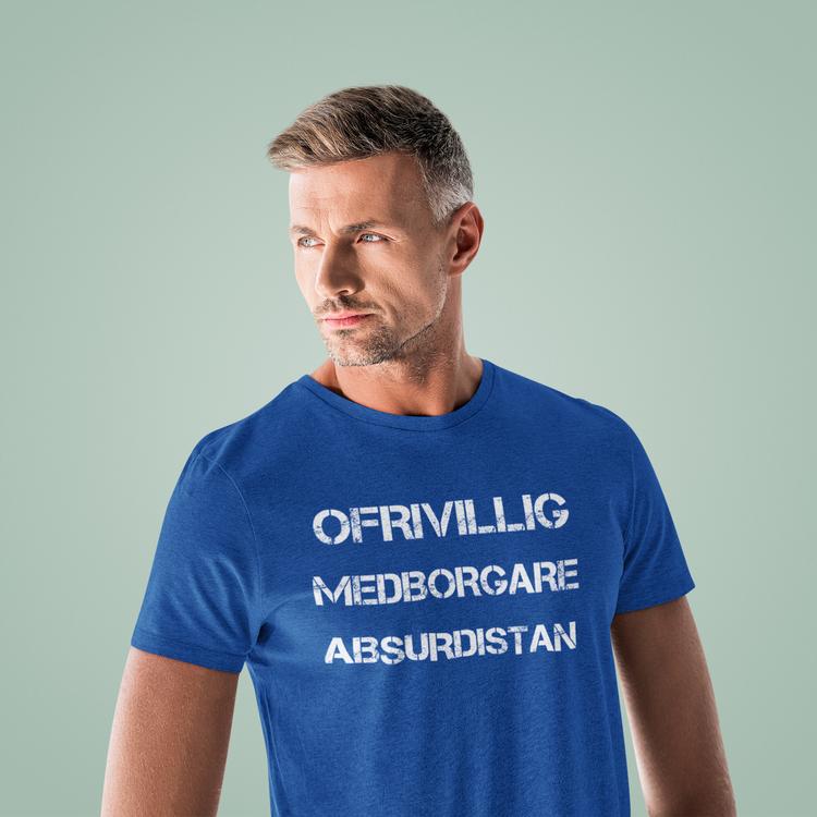 Välkommen till Absurdistan. Tshirt Herr/Men