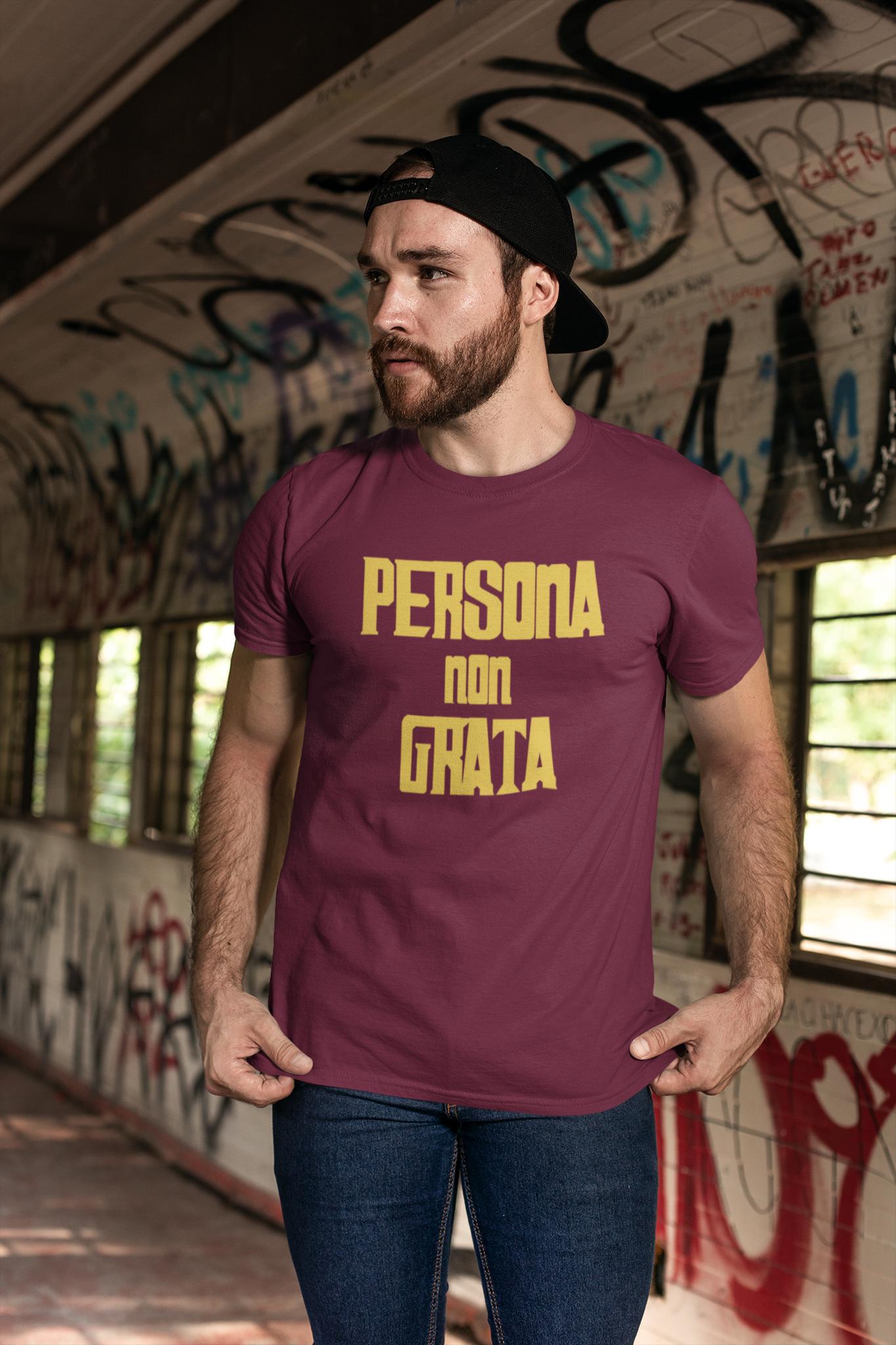 Persona Non Grata T-Shirt Herr