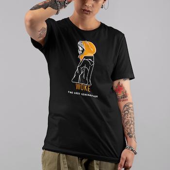 WOKE The Lost Generation  T-Shirt Dam