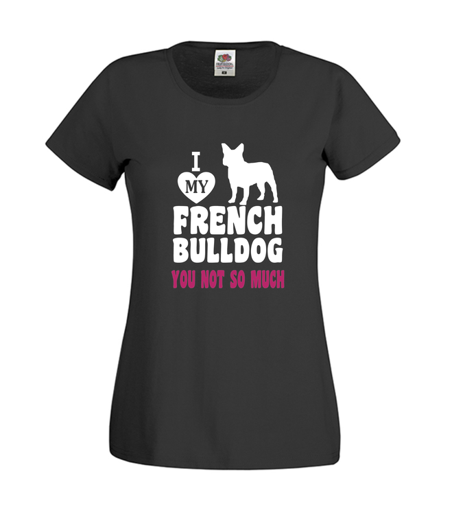 Fransk Bulldog Tshirt-French Bulldog Tshirt-French Bulldog