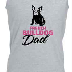 Fransk Bulldog Dad Linne Herr