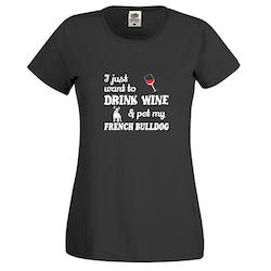 Fransk Bulldog Chilin with my friend T-Shirt